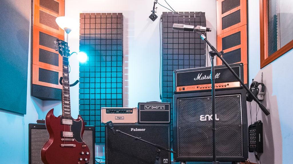 Alea Studios - Estudio de grabación en Logroño - Guitarras y Amplificadores