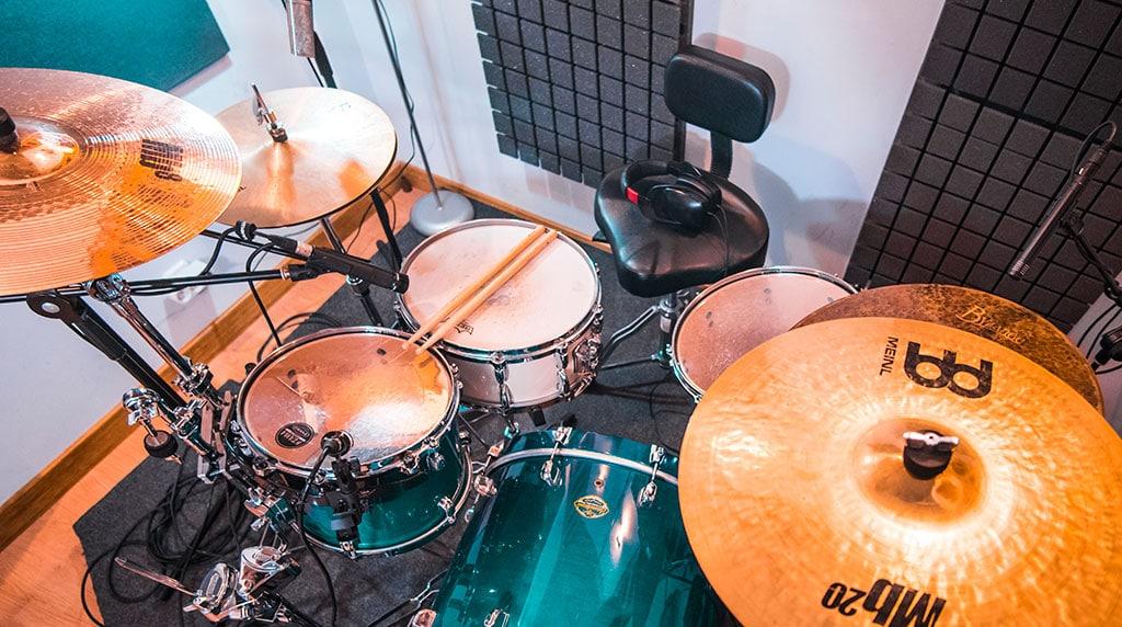 Alea Studios - Estudio de grabación en Logroño - Percusión y baterías