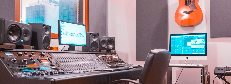 Alea Studios - Estudio de grabación en Logroño - Mezcla y mastering