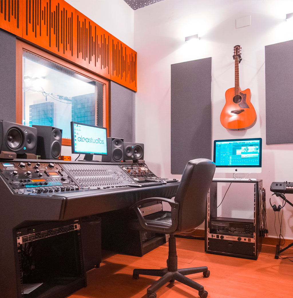 Alea Studios - Estudio de grabación en Logroño - Sala de control