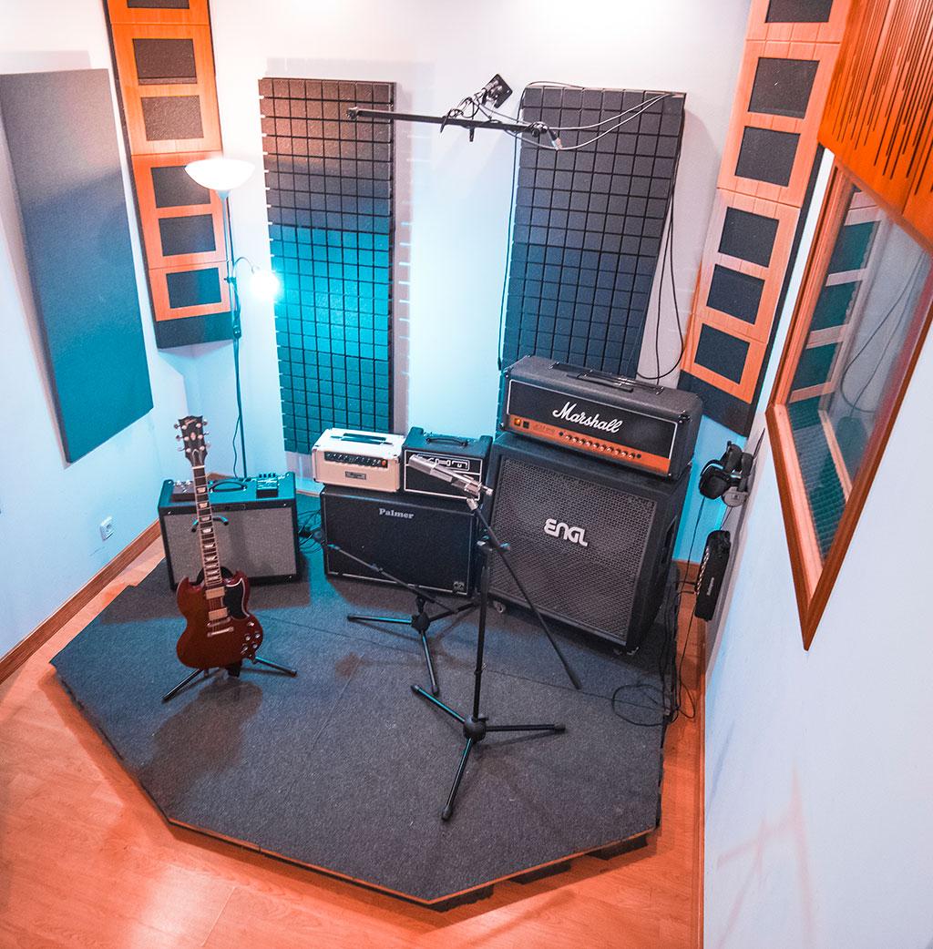 Alea Studios - Estudio de grabación en Logroño - Sala de grabación