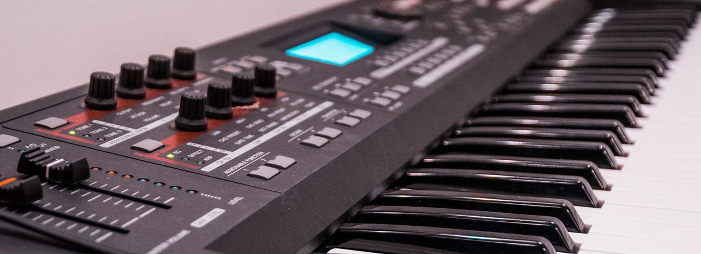 Alea Studios - Estudio de grabación en Logroño - Teclado